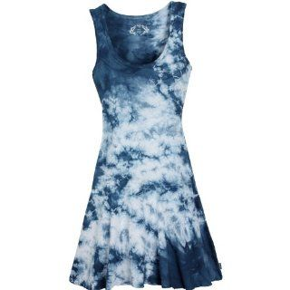 prAna Women's Ashlyn Dress, Blue, Large: Sports & Outdoors