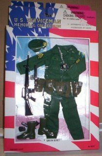 SOLDIERS OF THE WORLD SOTW VIETNAM Green Beret Uniform: Toys & Games