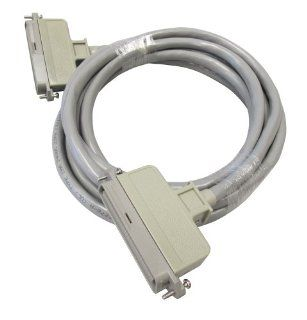 Allen Tel 25 3 PP 10 180 Plug In Connector Cable Patch Cord, 10 Foot Length, Cable To Panel, 180 Degree Male Plug At Both Ends   Electrical Cables