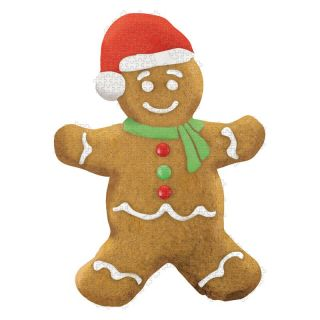 Paper House Gingerbread Man Puzzle   Jigsaw Puzzles