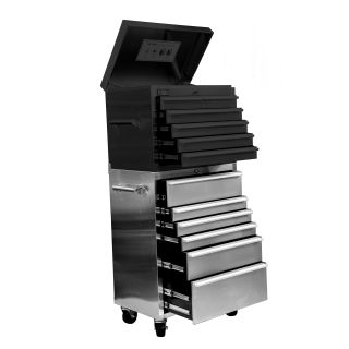Trinity 32 in. Stainless Steel Roller Tool Chest   Tool Chests & Cabinets