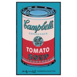 Andy Warhol   Campbells Soup Can   c. 1965   Pink/Red   40.5 x 24.5 in.   Framed Wall Art