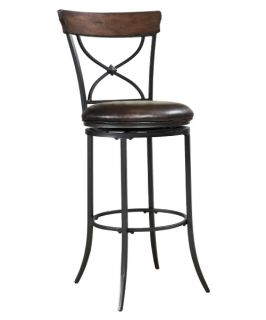 Cameron Swivel X Back Counter Stool   Bar Stools