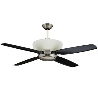 Yosemite Home Decor ZEPHYR BN Zephyr 52 in. Indoor Ceiling Fan   Brushed Nickel   Ceiling Fans