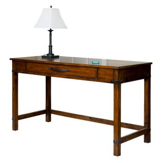 Martin Home Furnishings Point Reyes 56 in. Writing Desk   Toasted Pecan   Writing Desks