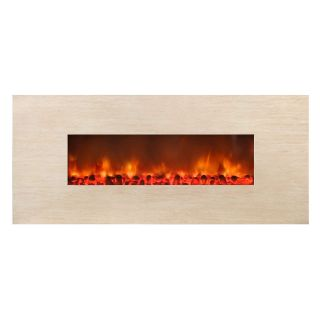 Yosemite Home Decor Adobe 59 Wall Mount Electric Fireplace   Electric Fireplaces