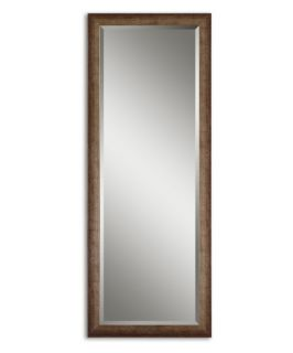 Lawrence Antiqued Finish Wall / Leaning Floor Mirror   24.125W x 64.125H in.   Wall Mirrors