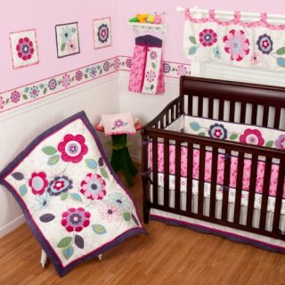 Sumersault Daniela 4 Piece Crib Set   Baby Bedding & Sets