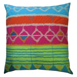 Koko Company Java Bright Tie Dye Decorative Pillow   Decorative Pillows