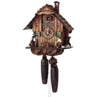 Schneider Black Forest 11 Inch 8 Day Movement Cuckoo Clock   Cuckoo Clocks