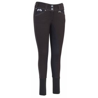Equine Couture Ladies Blakely Full Seat Breeches   Equestrian Riding Apparel