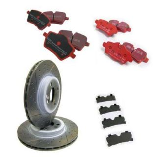 2011 2012 Chevrolet Cruze Brake Disc and Pad Kit   EBC Brakes, EBC Sport Kit   Stage 2