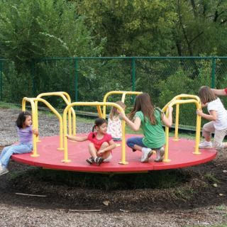 Sportsplay 10 ft. Merry Go Round With Low Bars   Commercial Playground Equipment