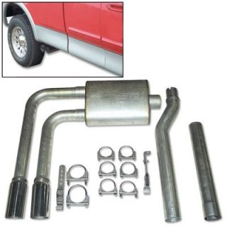 SS Dual Axel Cat Back Exhaust System 4