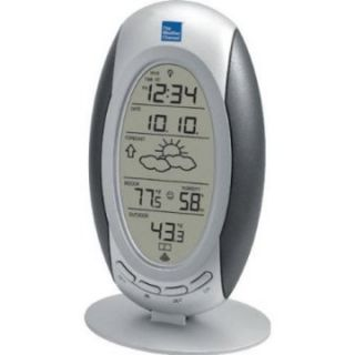 La Crosse Technology Atomic Clock with WS 9153TWC IT TCP Wireless Forecast Station   Weather Stations