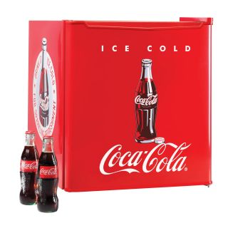 Nostalgia Electrics Coca Cola Series CRF170COKE 1.7 cu. ft. Mini Fridge   Small Refrigerators