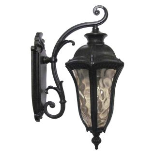 Yosemite Home Decor Straford 1 Light Exterior Wall Sconce   11.25W in.   oil weathered Bronze   Outdoor Wall Lights
