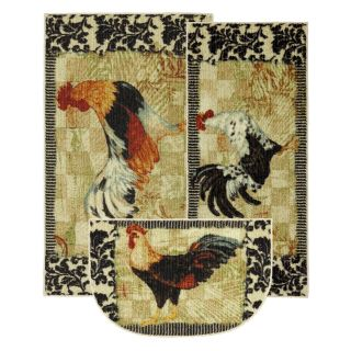 Mohawk New Wave Kitchen Bergerac Rooster Rug   Area Rugs