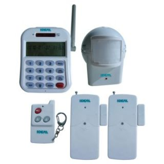 Ideal Security SK633 5 Piece Wireless Expandable Alarm Set with Telephone Dialer   Motion Sensors