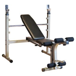 Best Fitness Olympic Bench with Leg Developer   Bench Presses