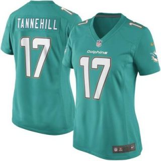 Nike Ryan Tannehill Womens Miami Dolphins New 2013 Game Jersey   Aqua