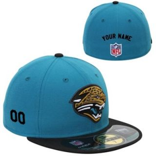 New Era Jacksonville Jaguars Mens Customized On Field 59FIFTY Football Structured Fitted Hat