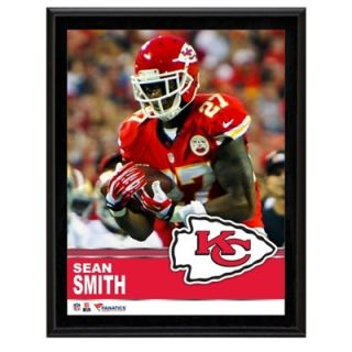 Sean Smith Kansas City Chiefs Sublimated 10.5 x 13 Plaque