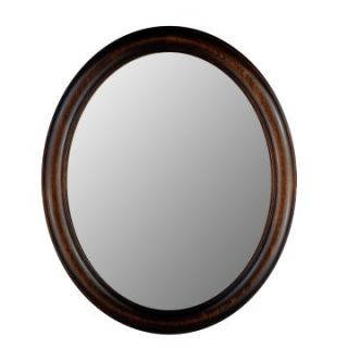 Hitchcock Butterfield Premier Series Oval Wall Mirror   771   Dark Walnut   Wall Mirrors