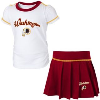timeless design af098 06ca2 Washington Redskins Toddler Skirt & T Shirt Set Burgundy ...