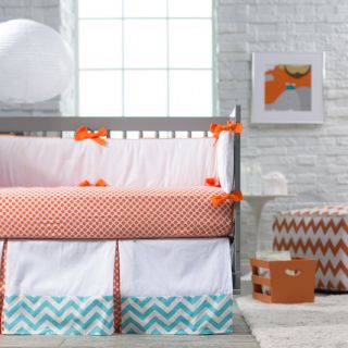 New Arrivals Orange Crush Crib Bedding Set   Baby Bedding Sets