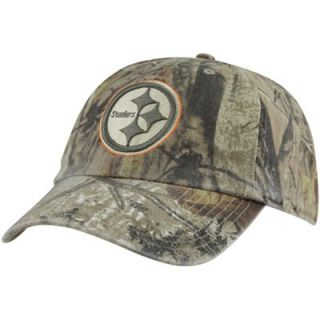 47 Brand Pittsburgh Steelers Clean Up Adjustable Hat   Realtree Camo