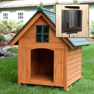 Boomer & George T Bone Dog House with Heater   Dog Houses