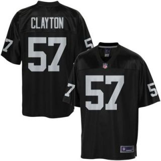 Pro Line Mens Oakland Raiders Keenan Clayton Team Color Jersey