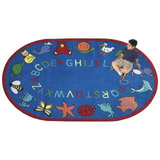 Joy Carpets ABC Animals Kids Area Rug   Assorted Colors   Rugs