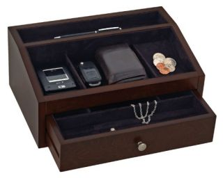 Reed & Barton Jackson Jewelry Valet   12W x 5H in.   Mens Jewelry Boxes