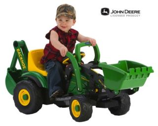 Peg Perego John Deere Utility Tractor   Battery Powered Riding Toys