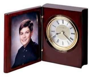 Howard Miller Portrait Book Desktop Clock   Desktop Clocks