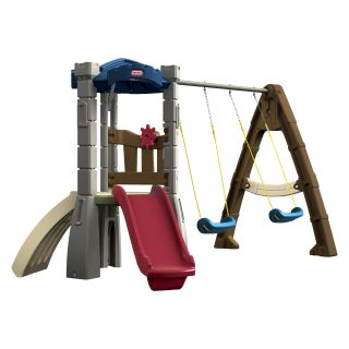 Little Tikes Endless Adventures Lookout Swing Set   Swing Sets