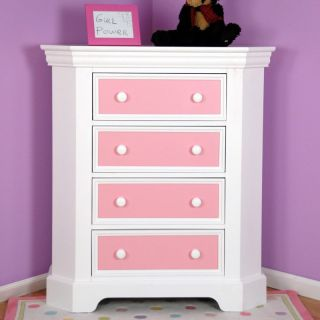 Color Box 4 Drawer Corner Chest   Kids Chests