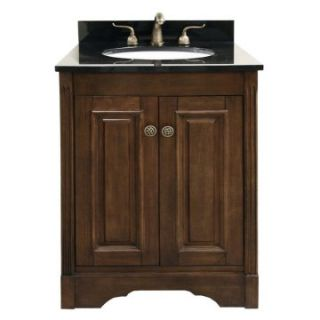 Legion Furniture Norfolk 25 in. Single Bathroom Vanity   Dark Walnut   Single Sink Bathroom Vanities
