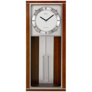 Bulova Norcrest Retro Wall Clock   9.25 Inches Wide   Wall Clocks