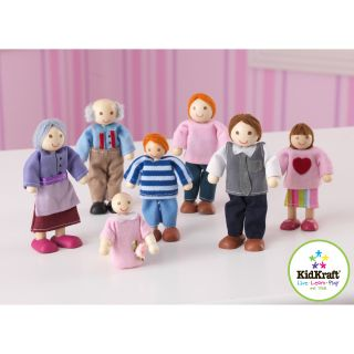 KidKraft Caucasian Doll Family   Dollhouses