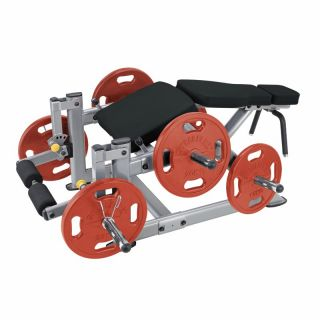 SteelFlex Plate Load Leg Curl   Single Station Gyms