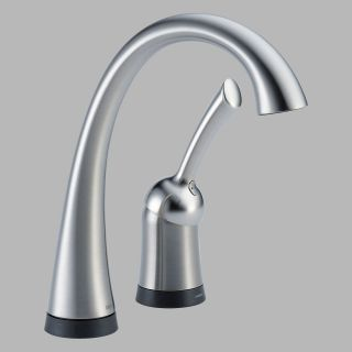 Delta Pilar 1980T DST Single Handle Bar / Prep Faucet with Touch2O Technology   Bar Faucets