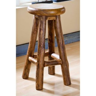 Groovystuff Nova Garden 30 in. Backless Bar Stool   Honey   Bar Stools
