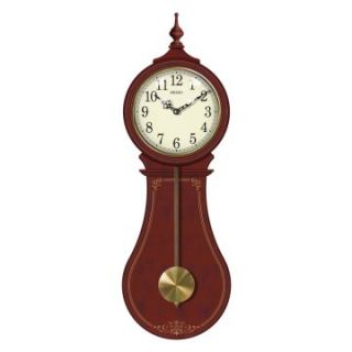 Seiko Senator Pendulum Wall Clock   8.75W x 26H in.   Wall Clocks