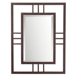 Quadrant Dark Bronze Wall Mirror   26W x 34H in.   Wall Mirrors