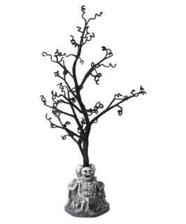 Midwest CBK Haunted House Party Black Twisty Tree with Skeletons   Halloween