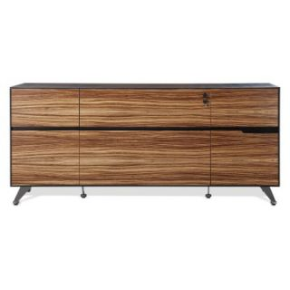 Jesper 400 Collection Storage Credenza   Zebrano   File Cabinets