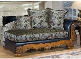 Chelsea 4150 CH BN Winnie Chaise Lounges   Brown   Indoor Chaise Lounges